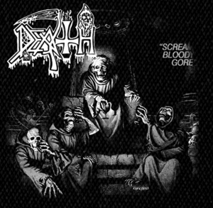 "Death - Scream Bloody Gore 5x4"" Printed Patch"
