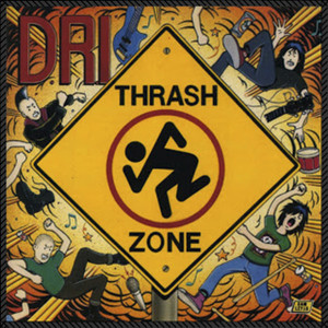 """D.R.I. - Thrash Zone 8x8"""" Color Backpatch"""