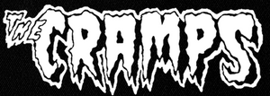 "Cramps - Logo 8x3"" Printed Patch"