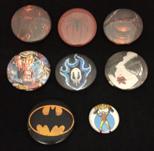 8 Piece Mixed Lot - Batman, Miss Van, Spiderman + More!