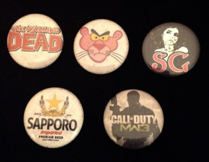 5 Piece Mixed Lot - Sapporo, Suicide Girls, Pink Panther + More!