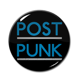 "Post Punk 1.5"" Pin"