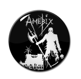"""Amebix - Axeman 1.5"""" Pin"""