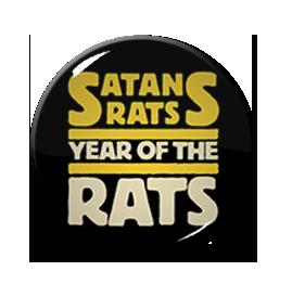 """Satans Rats 1.5"""" Pin"""