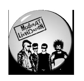"Moderat Likvidation 1.5"" Pin"