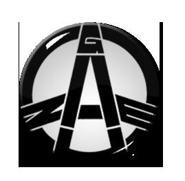 "Gauze - Logo 1.5"" Pin"