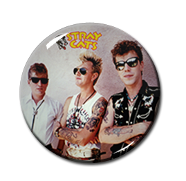 "Stray Cats 1.5"" Pin"