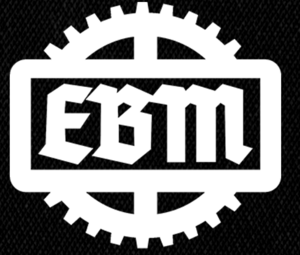 "EBM - Gear Logo 6x5"" Printed Patch"