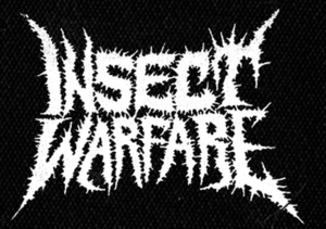 "Insect Warfare - Logo 5x5"" Printed Patch"