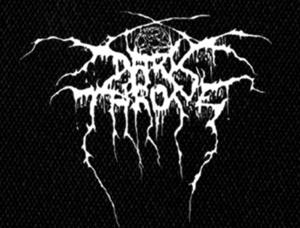 "Darkthrone - Logo 5x4"" Printed Patch"