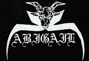 "Abigail - Logo 6x5"" Printed Patch"