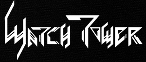 "Watch Tower - Logo 7x3"" Printed Patch"