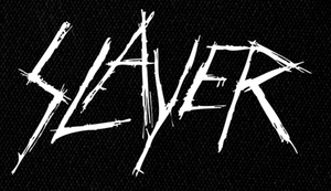 "Slayer - Scratched Logo 7x5"" Printed Patch"