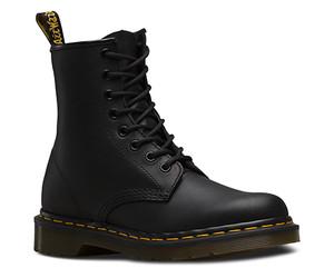 Dr. Martens 1460 Black Greasy 8 Eye Boot