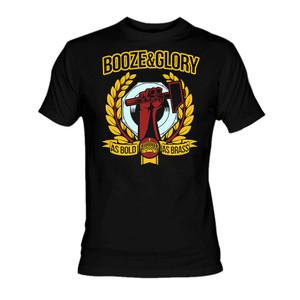Booze and Glory - Bold as Brass T-Shirt