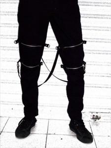Dr. Frankenstein - Black Bondage Pants