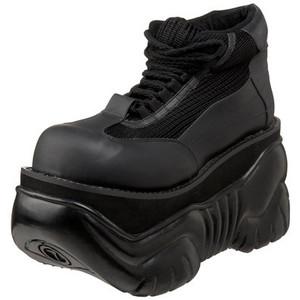 "4"" Unisex Sneaker Platform by Demonia"