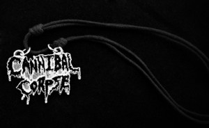 Cannibal Corpse Metal Chain Pendant