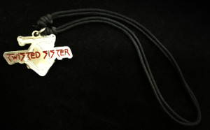 Twisted Sister Metal Chain Pendant