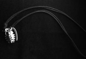 Hand Grenade Metal Chain Pendant