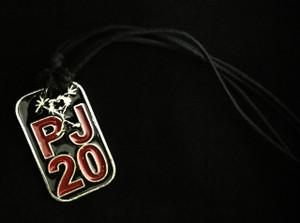 Pearl Jam - 20 Metal Chain Pendant