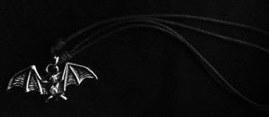 Bat Metal Chain Pendant