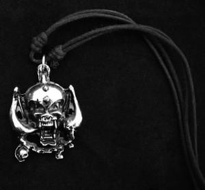 Motorhead Metal Chain Pendant