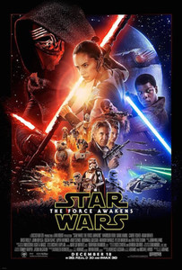 """Star Wars The Force Awakens 24x26"""" Poster"""