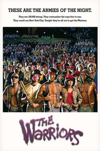 """The Warriors - Armies of the Night 24x26"""" Poster"""