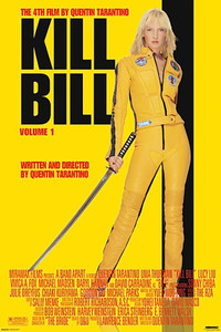 """Kill Bill 24x26"""" Poster"""
