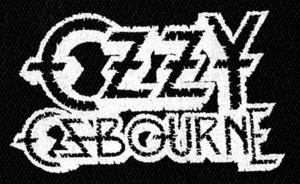"""Ozzy Osbourne - Logo 6x4"""" Printed Patch"""