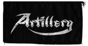 "Artillery - Logo 7x4"" Printed Patch"