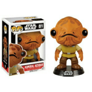 Pop! Figurines - Admiral Ackbar #81