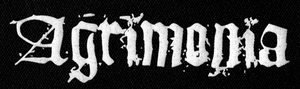 "Agrimonia - Logo 8x3"" Printed Patch"