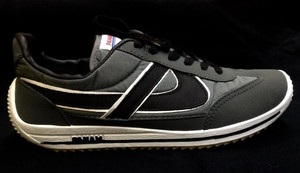 Panam - Grey & Black Unisex Sneaker