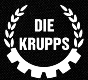 "Die Krupps - Logo 5x5"" Printed Patch"