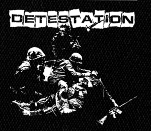 "Detestation - Soldiers 5x5"" Printed Patch"