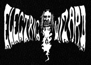 "Electric Wizard - Logo 6x4"" Printed Patch"