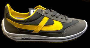 Panam - Grey & Yellow Unisex Sneaker