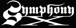 "Symphony X - Logo 6x3"" Printed Patch"