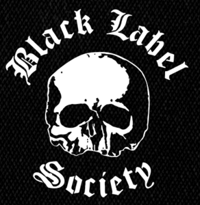 "Black Label Society - Skull 5x5"" Printed Patch"