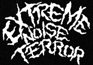 "Extreme Noise Terror - 80's Logo 5x5"" Printed Patch"