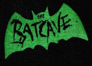 "Batcave - Logo 6x4"" Printed Patch"