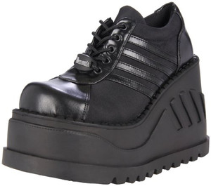 "Women's 4 3/4"" Wedge Platform Sneakers by Demonia"