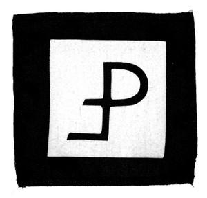 "Pouppee Fabrikk - Logo 5x5"" Printed Patch"