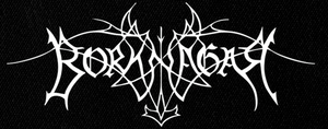 "Borknagar - Logo 7x3"" Printed Patch"