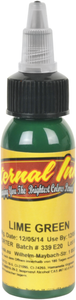 Eternal Ink - Lime Green 1/2 Ounce Tattoo Ink Bottle