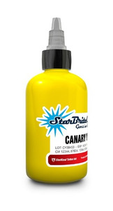 Starbrite Colors - Canary Yellow 1/2 Ounce Tattoo Ink Bottle
