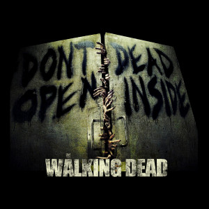 "TWD - Don't Dead, Open Inside 4x4"" Color Patch"