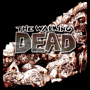"TWD - Comic 4x4"" Color Patch"